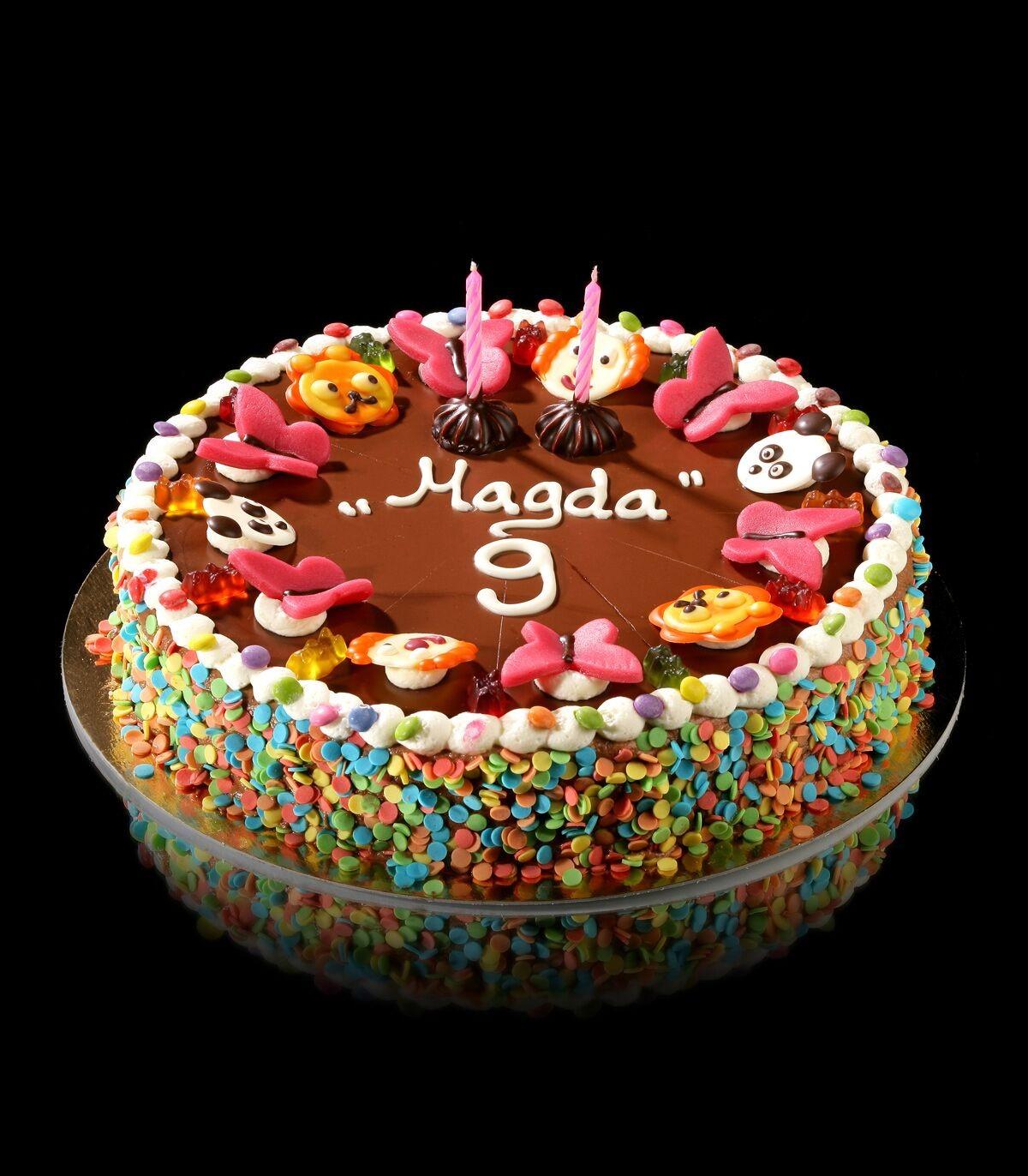 Kinder Geburtstagstorte Magda