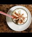 Kaffee Latte - extra Sahne