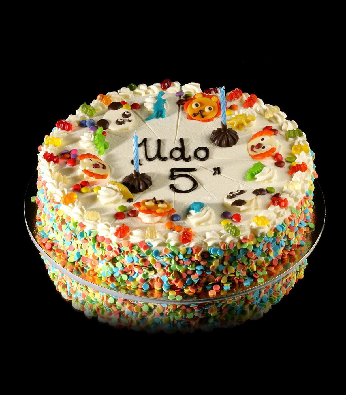Kinder Geburtstagstorte Udo