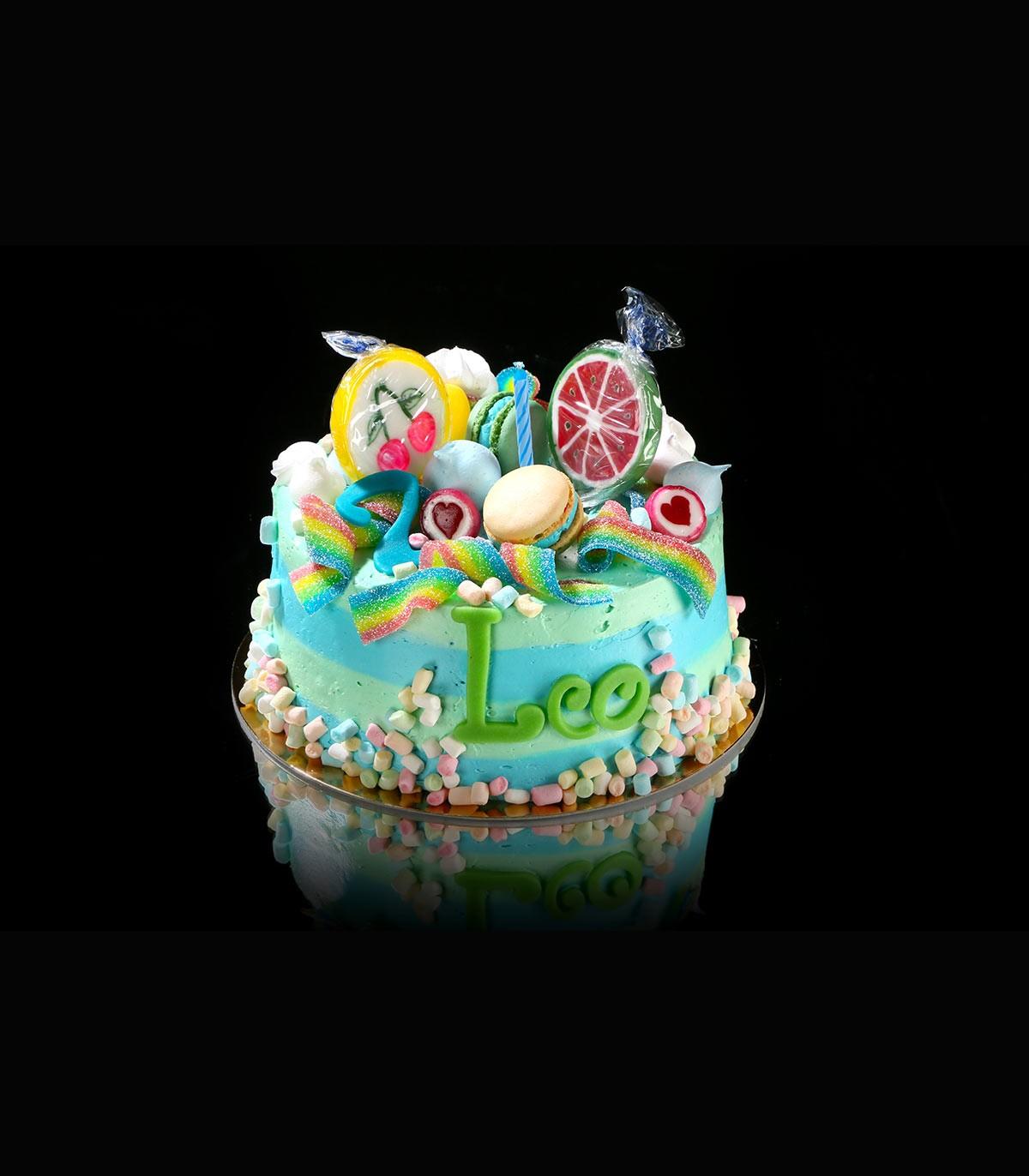 Kinder Geburtstagstorte Creme ø 18 Cm Höhe 10 Cm